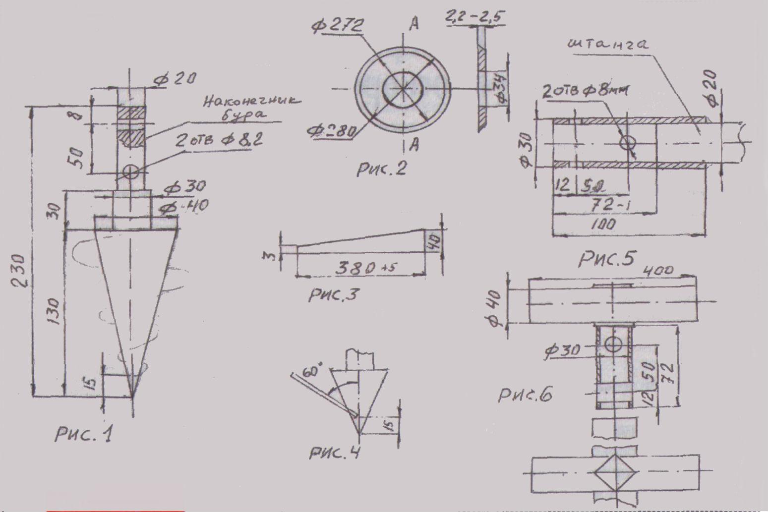 Тисэ бур: чертеж, технология изготовления, как сделать своим.