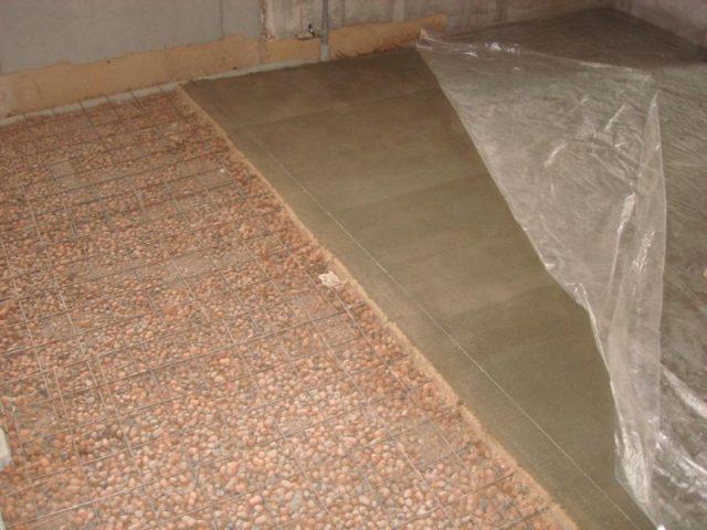 Стяжки пола из керамзитобетона купить бетон в миллерово ростовская область