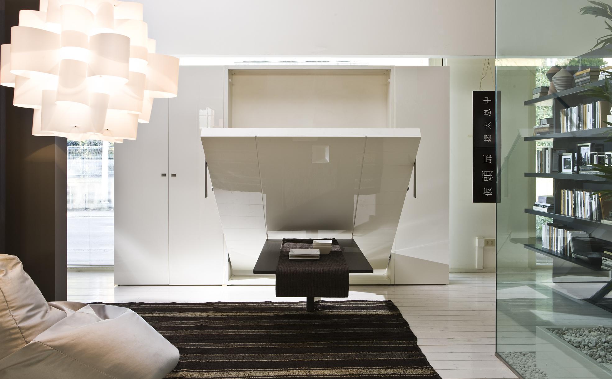 Как сэкономить место в комнате: интересные идеи