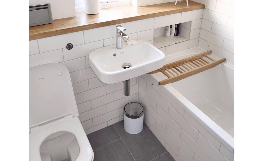 Дизайн небольшой ванной комнаты – полезные советы и вдохновляющие идеи