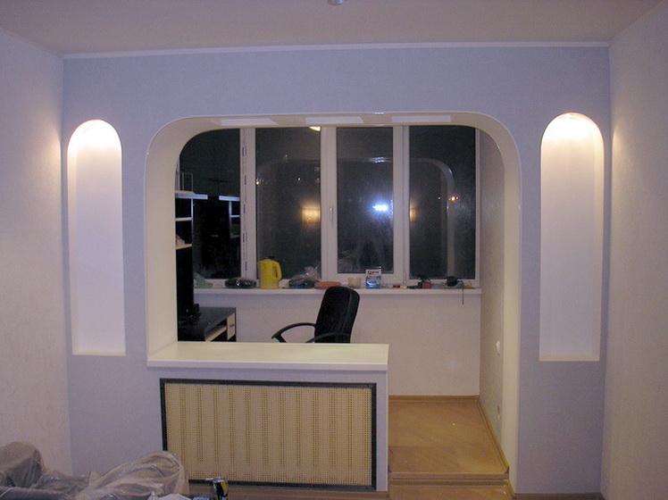 Совмещение балкона с комнатой: достоинства и недостатки