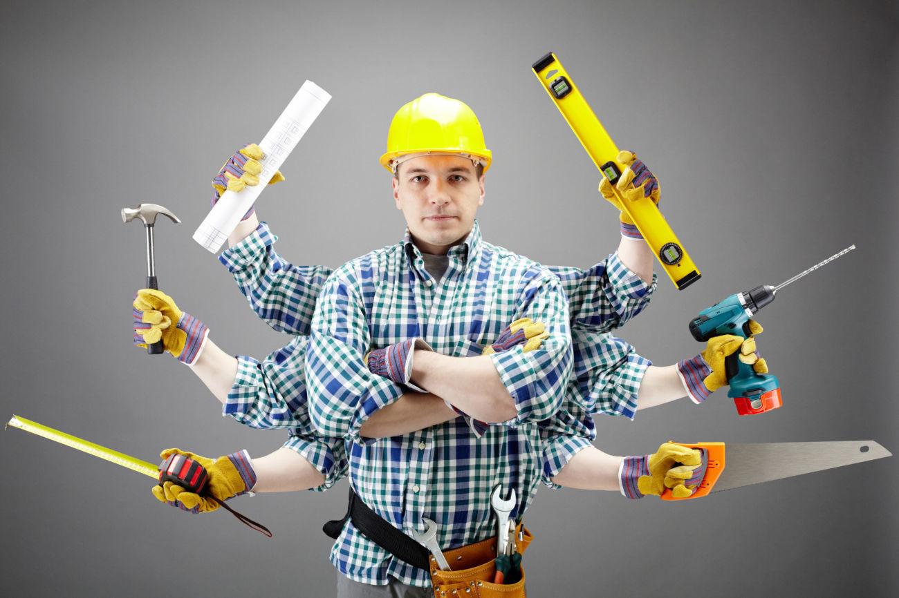 Готовимся к ремонту: какие бывают строители