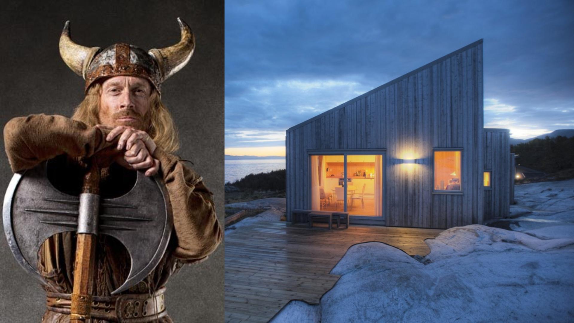 ⚔Дома современных викингов: скандинавский стиль в интерьере частного дома, гармония с природой и комфорт