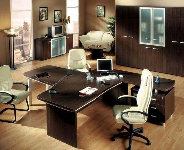 Кабинет руководителя: оформление интерьера и выбор мебели