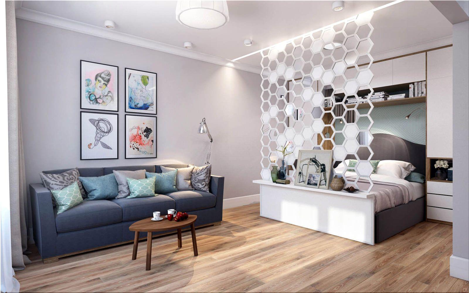 Правильное зонирование однокомнатной квартиры – Идеи Интерьера 2019