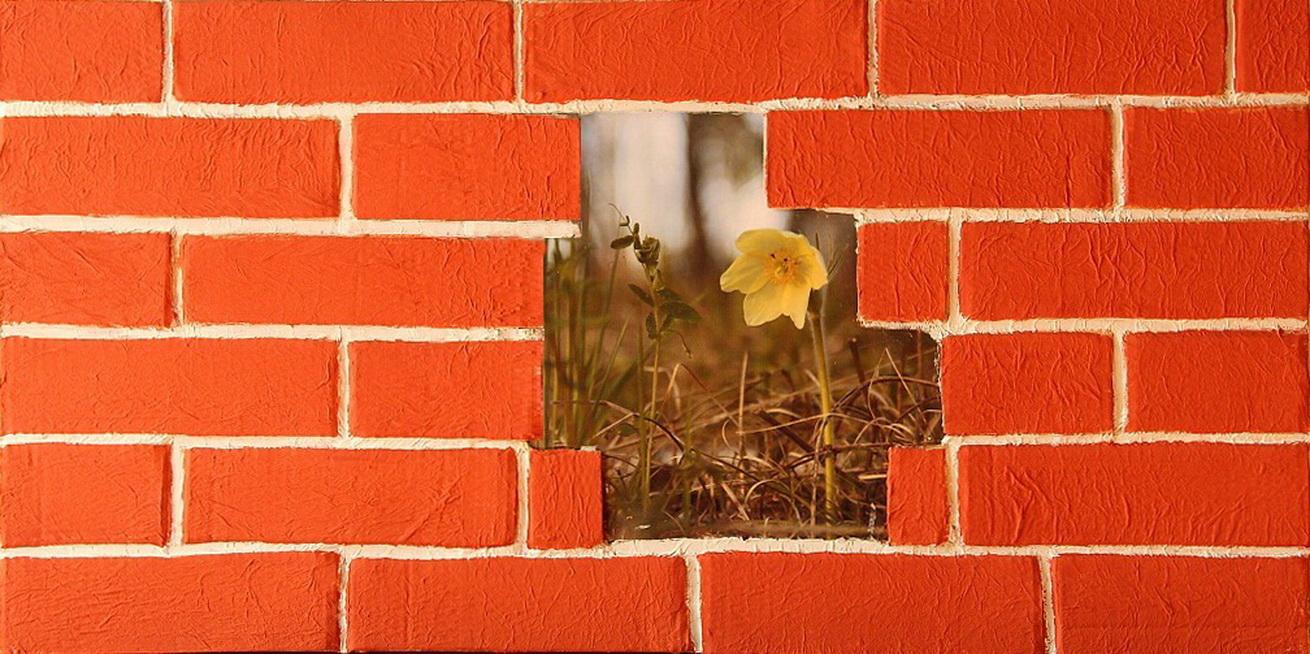 Имитация кирпичной стены: тренды, идеи и особенности