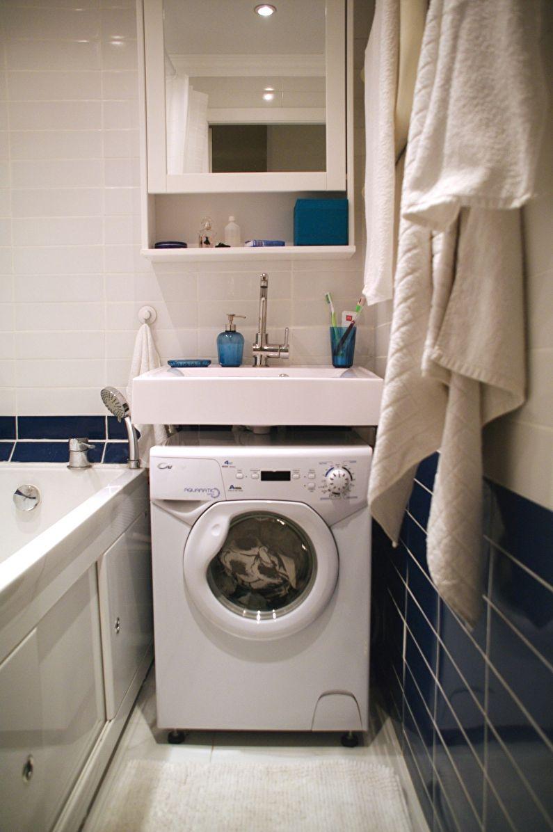 Дизайн маленькой ванной комнаты: секреты гармоничного оформления и экономии места