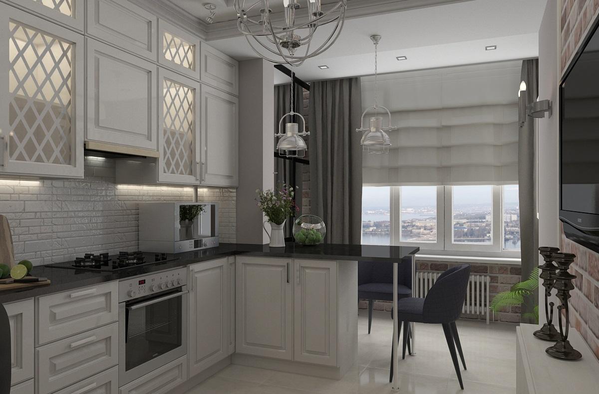 Кухня 2.0 – Совмещение кухонного помещения с балконом