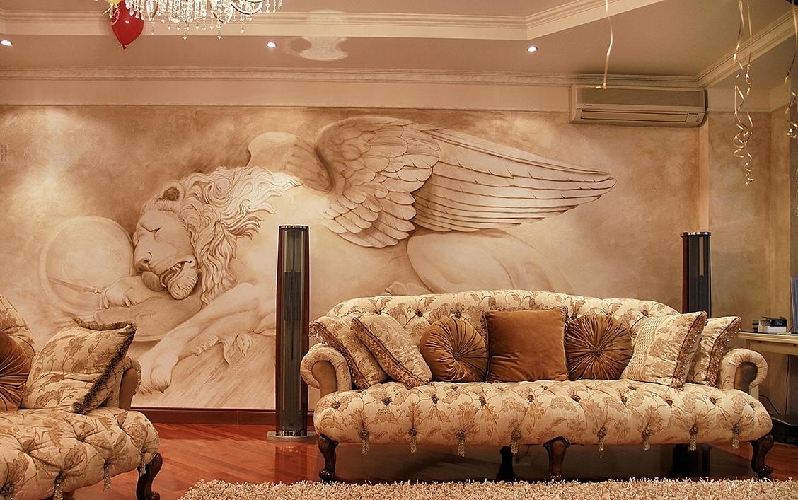 Роспись стен в интерьере: когда уместна, технология и советы