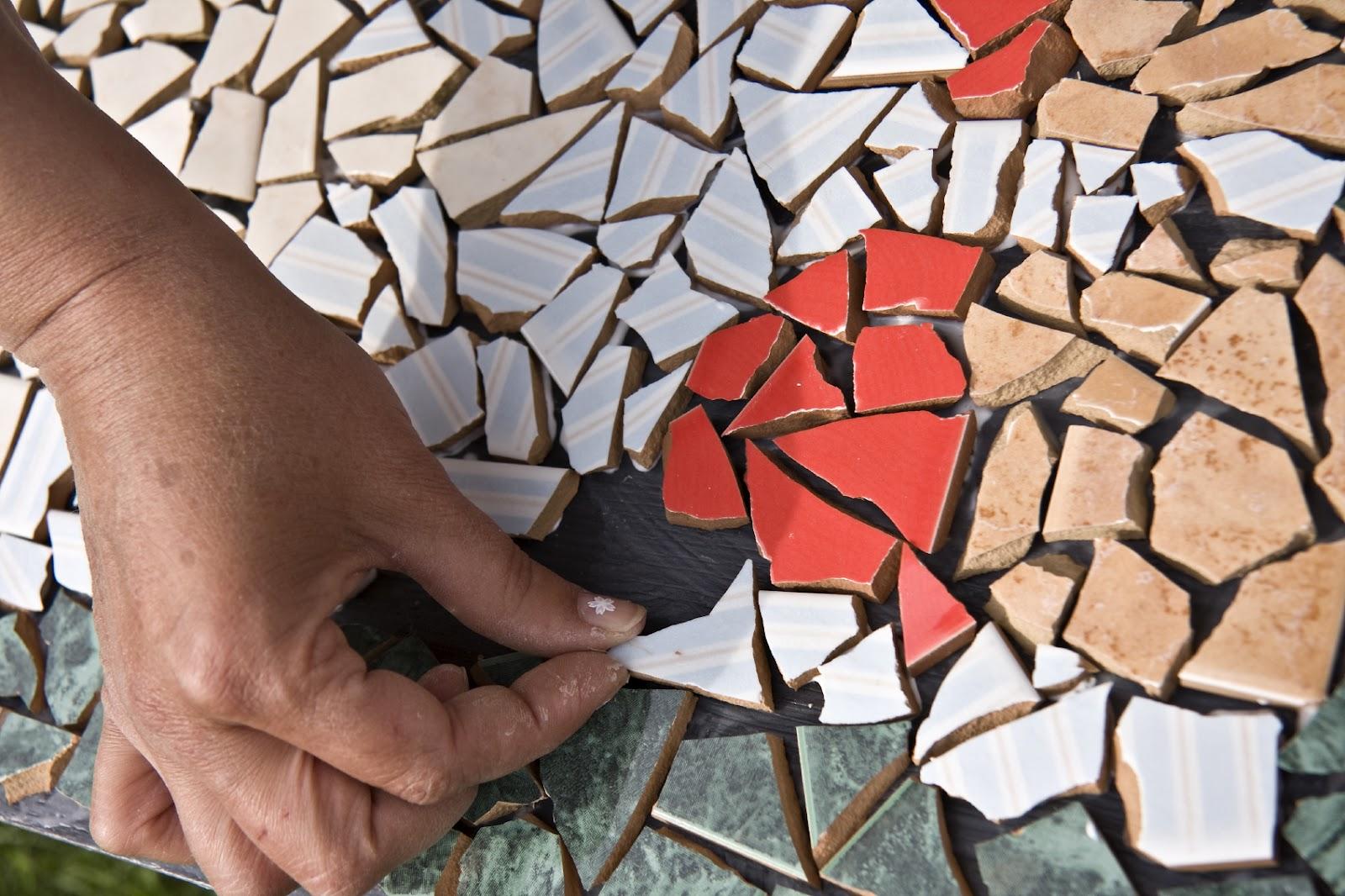 Арт идеи мозаики своими руками: ванная и напольное покрытие