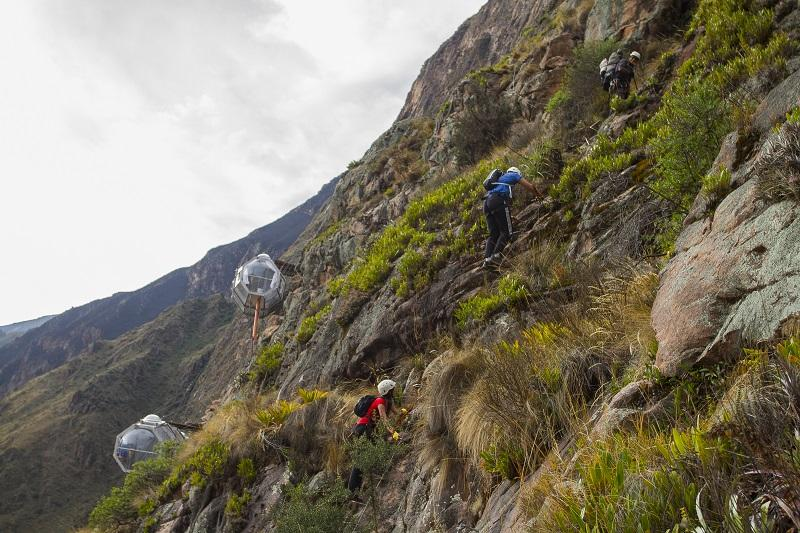 Проекты домиков для альпинистов – Natura Vive Skylodge Adventure Suites