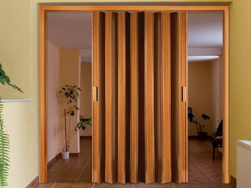 Дверь-гармошка (фото) Раздвижные, межкомнатные [Модели 2019]