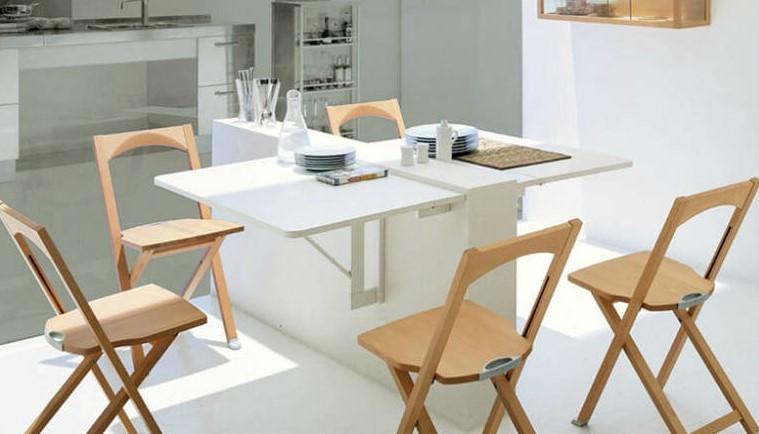Cтол и стулья для маленькой кухни ✅️фото, виды и критерии выбора