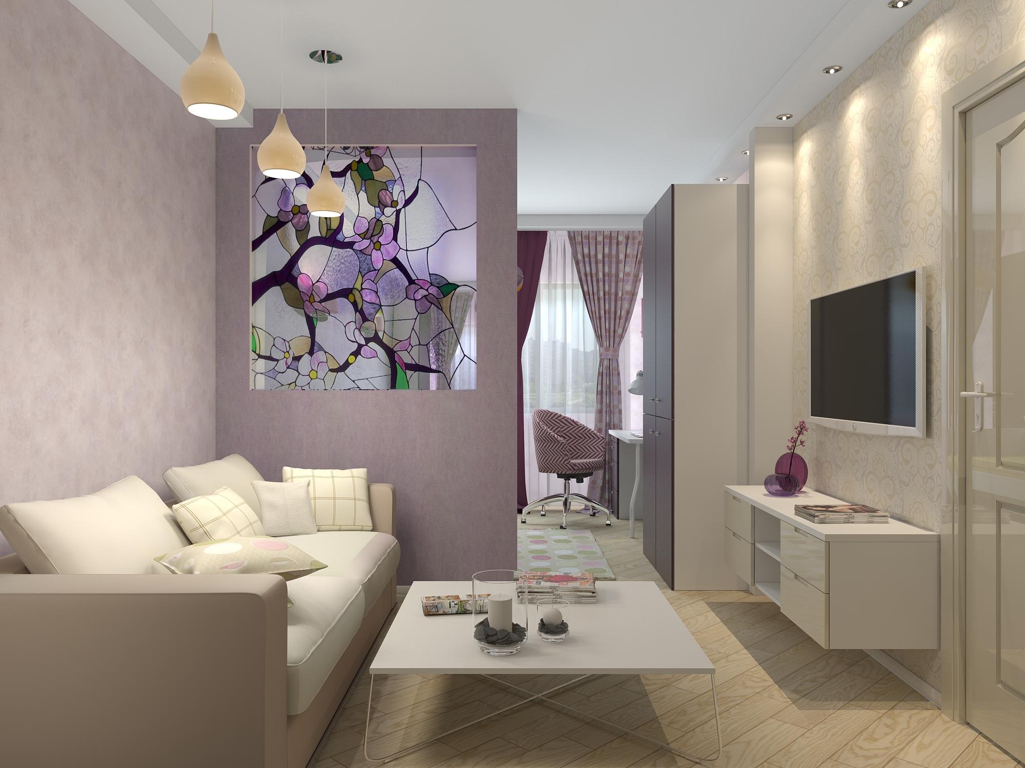 Особенности оформление интерьера гостиной малогабаритной квартиры