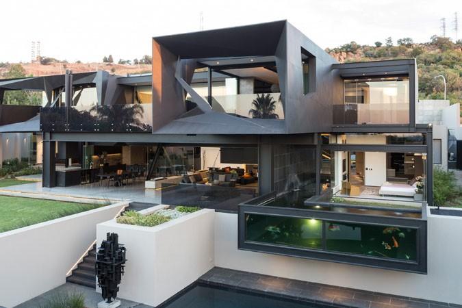 Удивительный проект от Nico van der meulen architects – Фантастический дом Kloof Road House