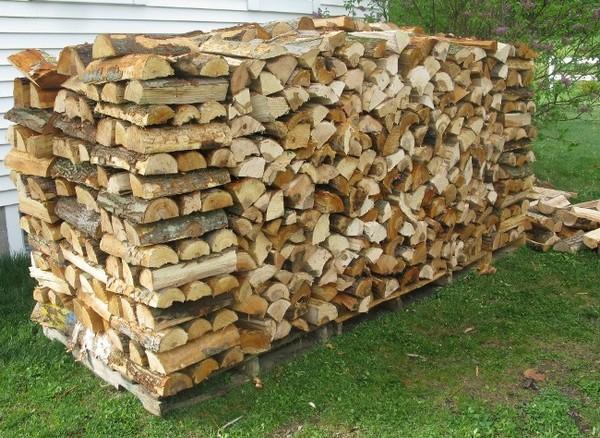 Храним дрова правильно – дровница своими руками