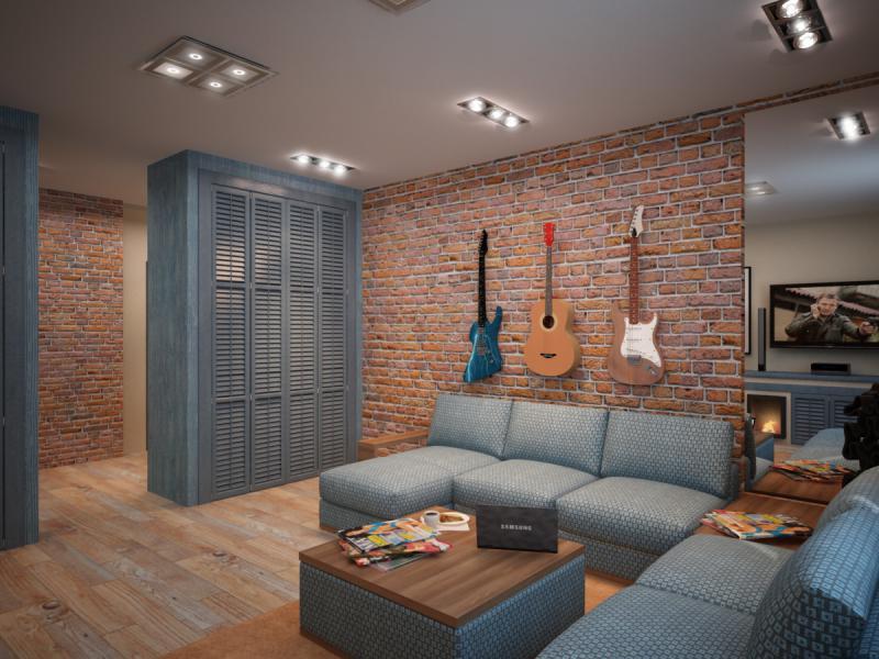 Дизайн однокомнатной квартиры 40 кв – нюансы оформления