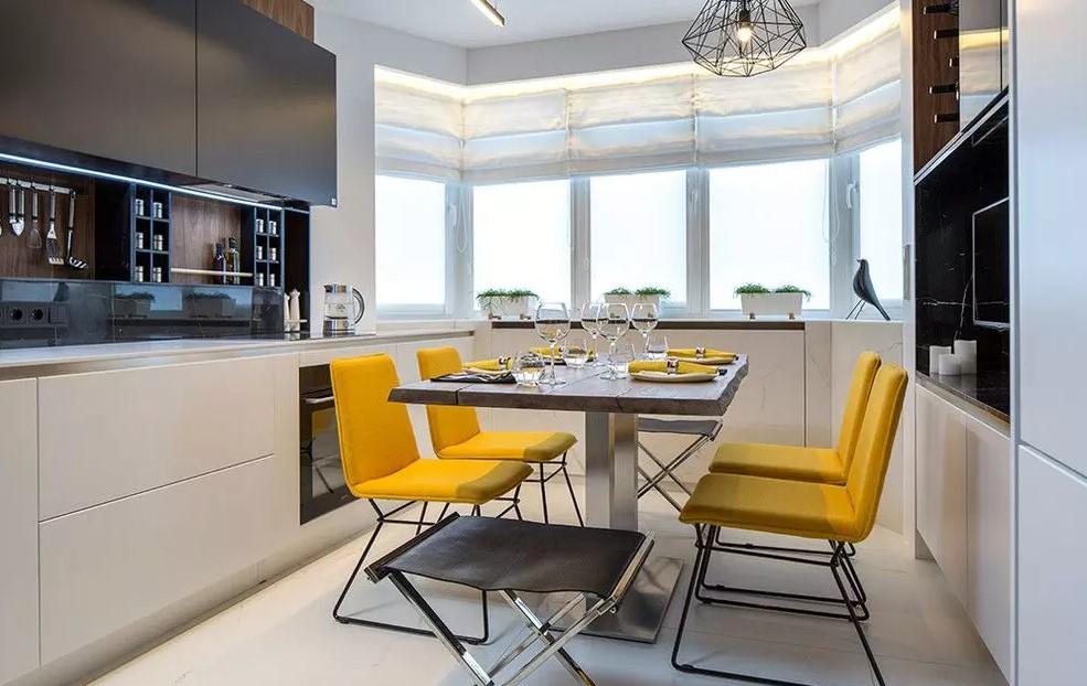 Правильно обустраиваем кухонное пространство – дизайна кухни 10 кв