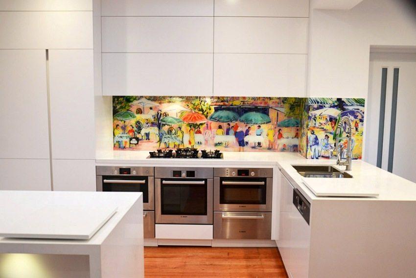 Кухни белые глянцевые: фото, преимущества, дизайн и сочетания