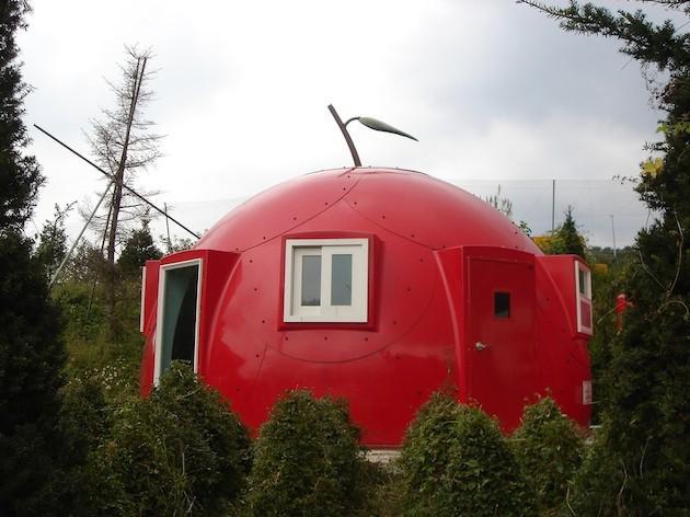 Круглые дома – оригинальные проекты и строительство +фото
