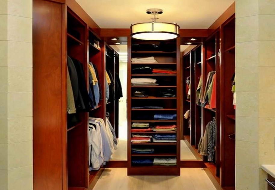Проект гардеробной комнаты: фото, виды и компоновка