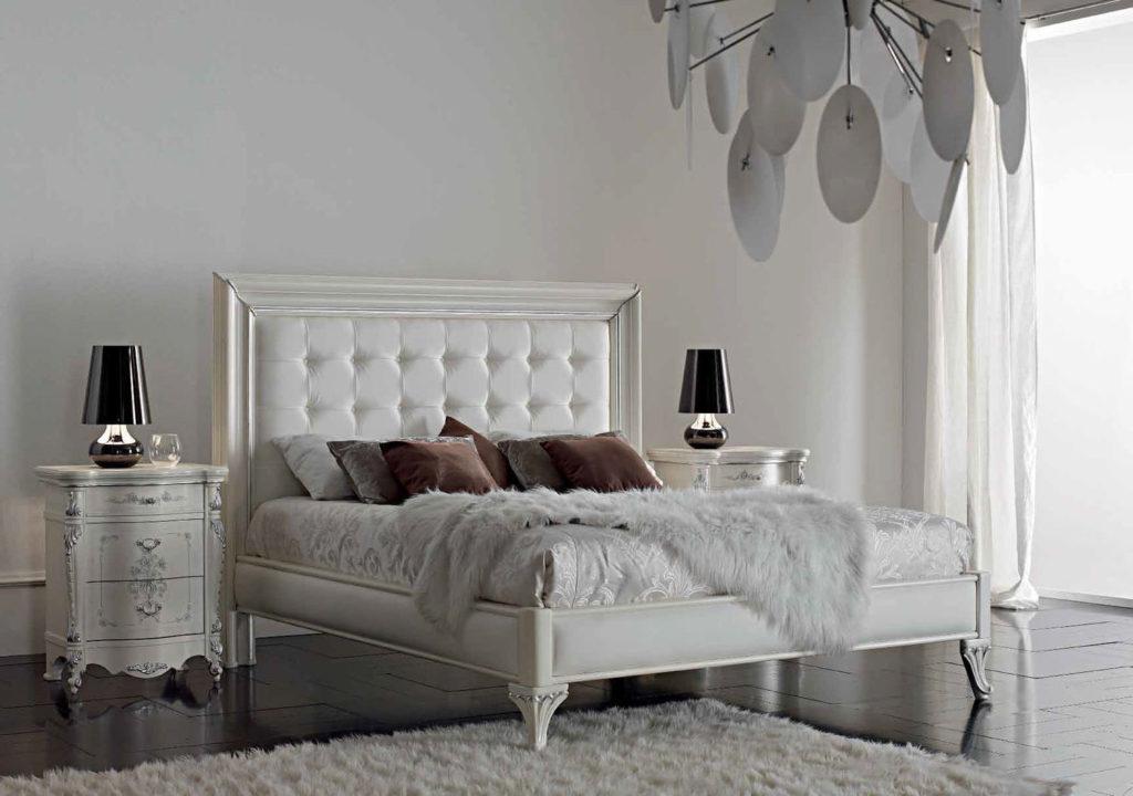 Кровать с мягким изголовьем — виды и примеры дизайна (фото) 2019