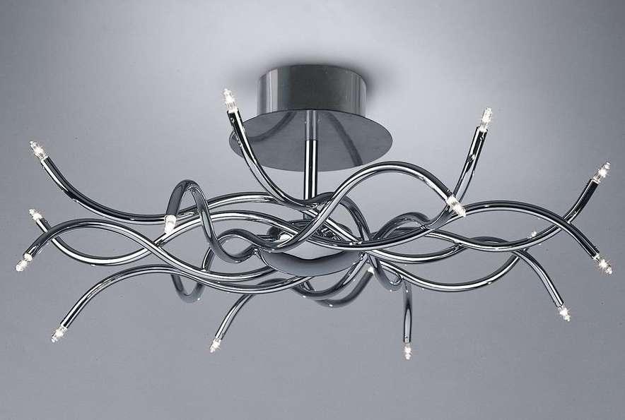 Роскошь иллюминации: модели итальянских светильников и люстр в интерьере