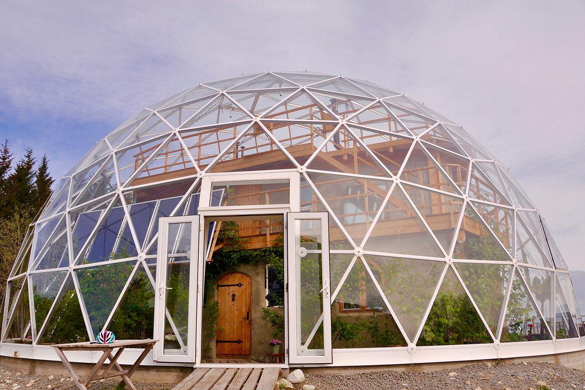 Dome Home: фото дома, проект, цена, материалы и постройка