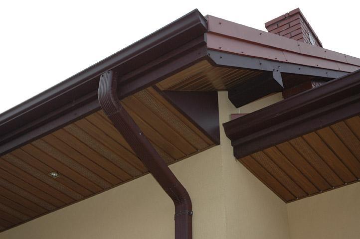 Подшивка крыши софитом: преимущества, варианты декора кровли и советы по монтажу