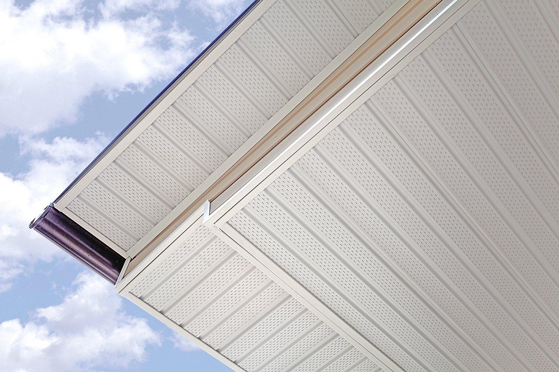 Подшивка крыши софитом: фото, виды, материалы и монтаж