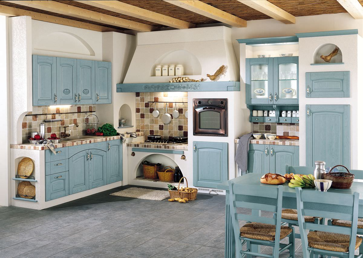 Дизайн кухни в деревенском доме [Фото] Стильные идеи ❤ 2019