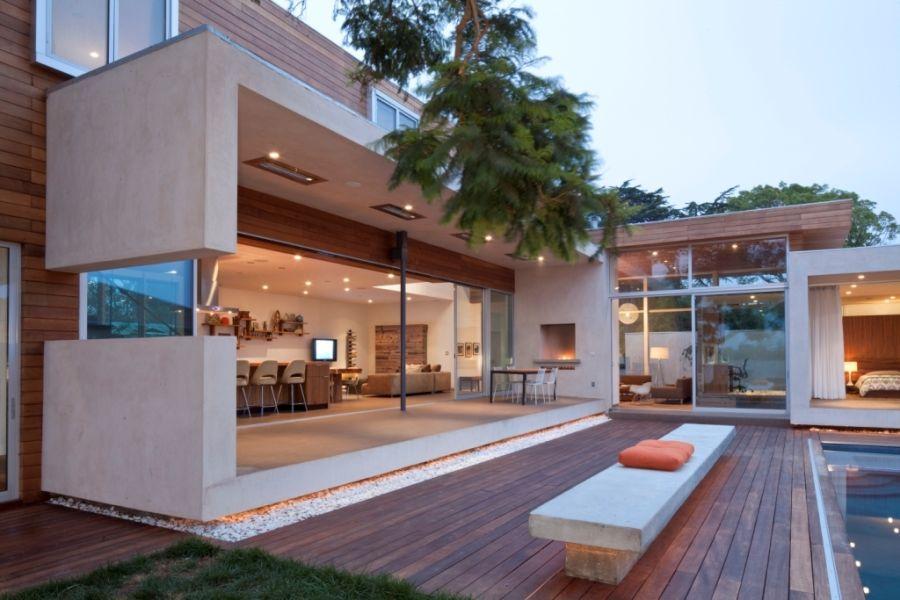 Appleton Residence: проект элегантного дома в Калифорнийской Венеции