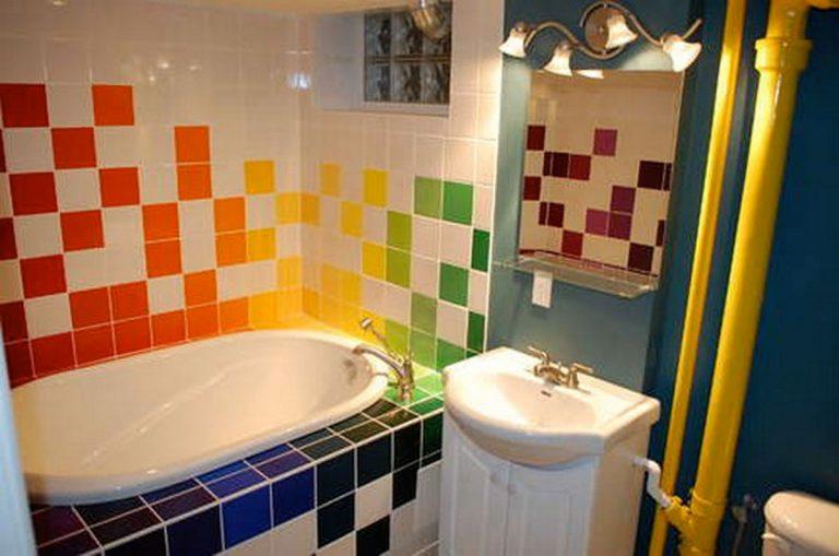 Функциональный минимализм – дизайн ванной комнаты 5 кв