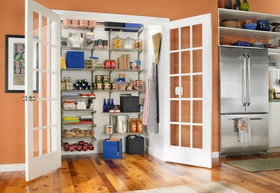 Кладовка в доме: фото, варианты, выбор места, обустройство
