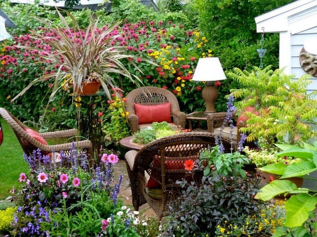 Дизайн садового участка своими руками: фото, проекты, примеры