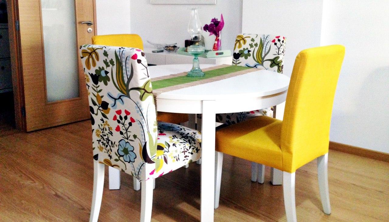 Чехлы на стулья: фото, для чего нужны, модели и материалы