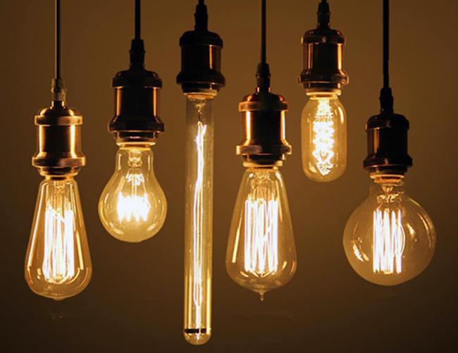 Лампа Эдисона: фото, внешний вид, дизайн, применение в интерьере