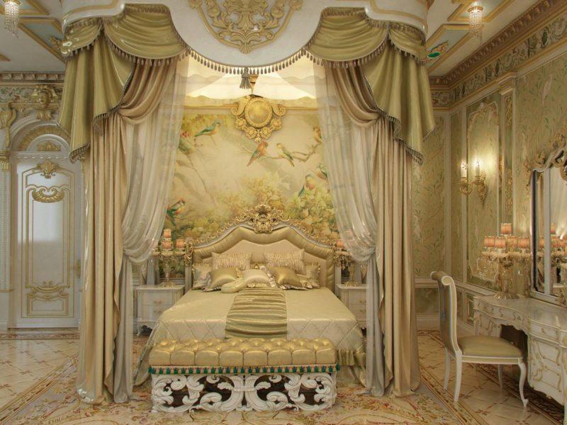 Идеи стиля барокко в интерьере и советы по оформлению