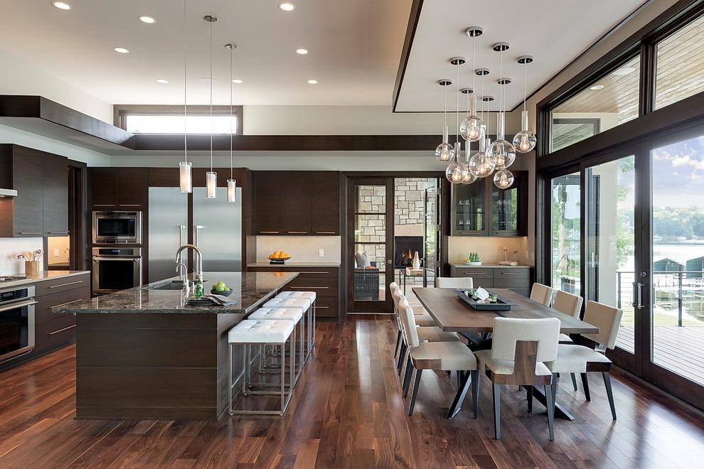 Кухня 30 квадратов: фото, планировка, дизайн, советы