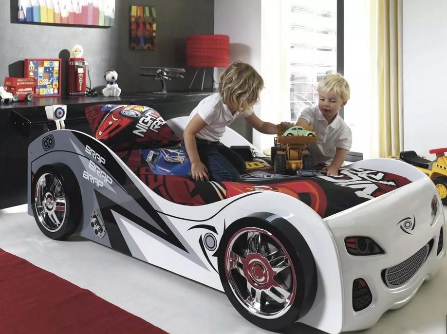 Кровать-машина для мальчика: фото, модели, описания, оформление