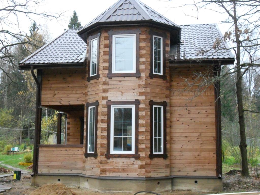 Дома из бруса: фото, проекты, варианты построек и цены