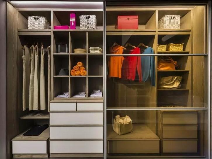 Наполнение шкафов-купе: фото, размеры, различия, советы