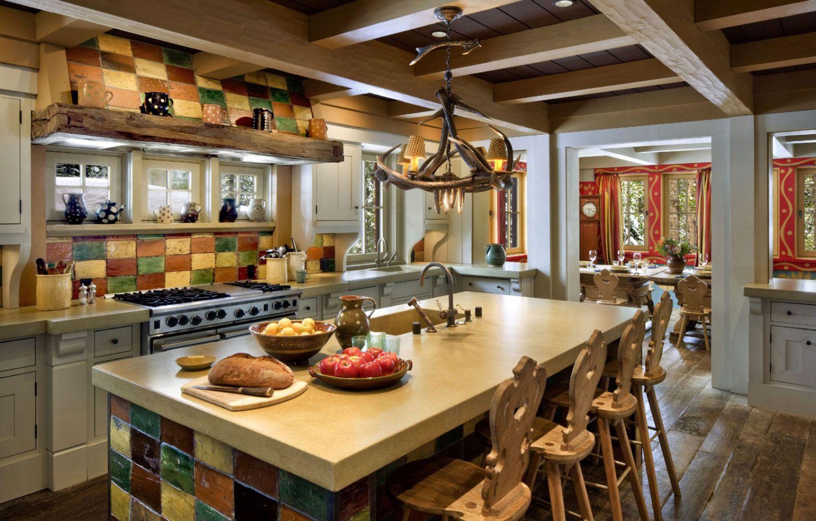 Интерьеры загородных домов и коттеджей: фото, стили, различия