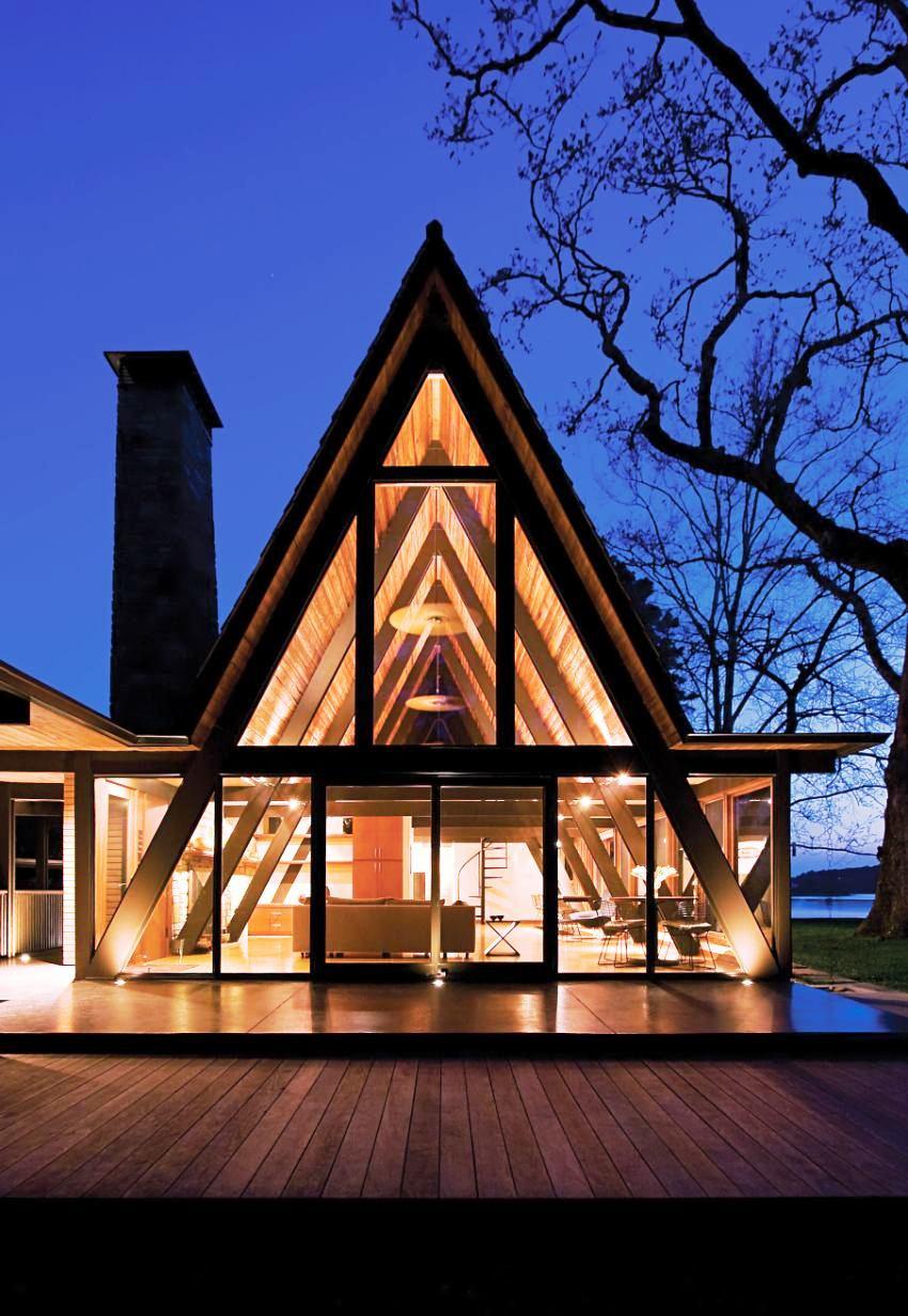 Треугольные дома 2019: фото, достоинства и недостатки, строительство