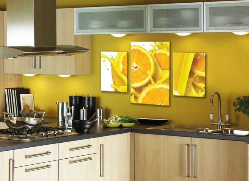 Картины для кухни: фото, стили, как подобрать