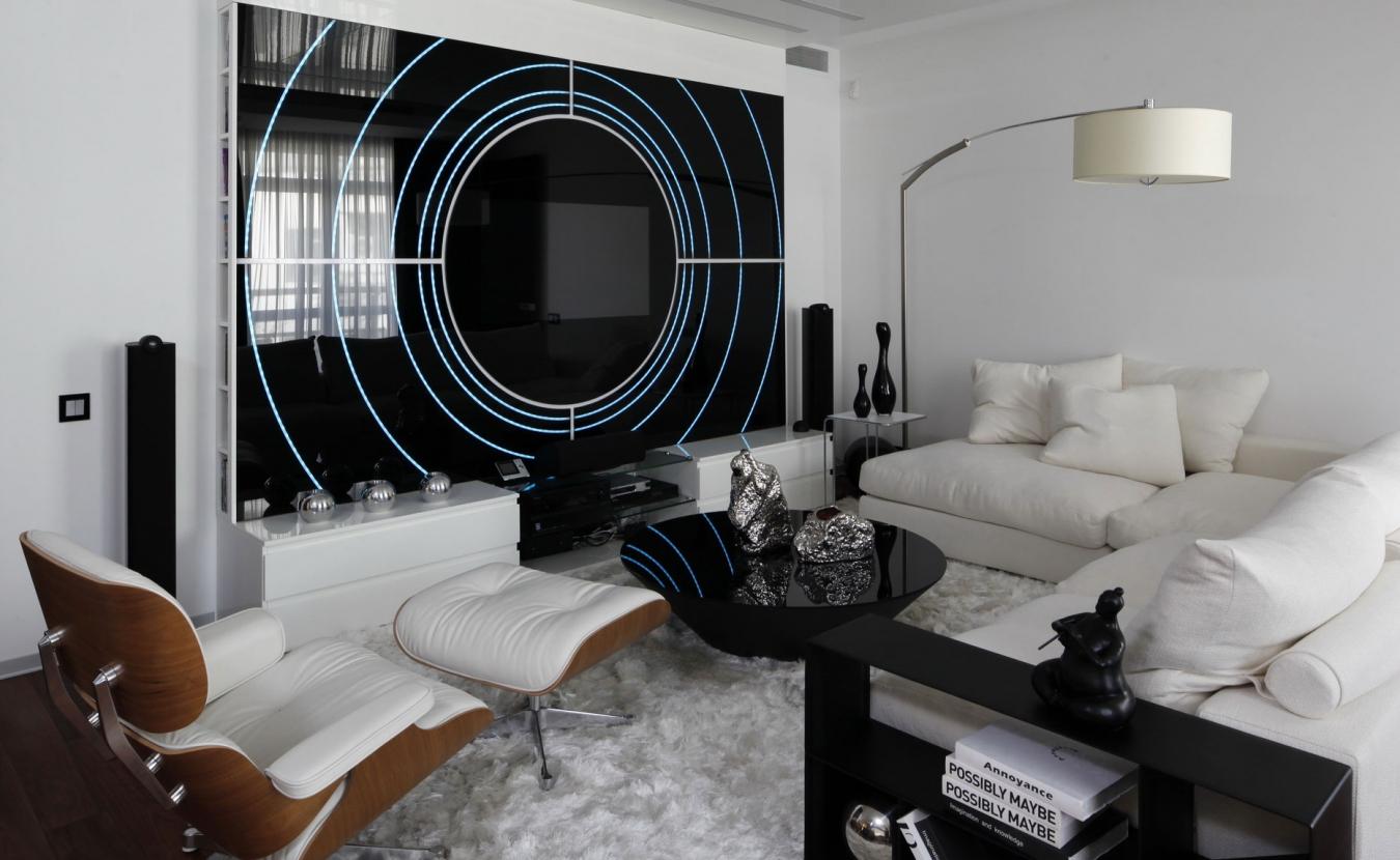 Хай-тек в интерьере: фото, черты стиля, мебель, дизайн, советы