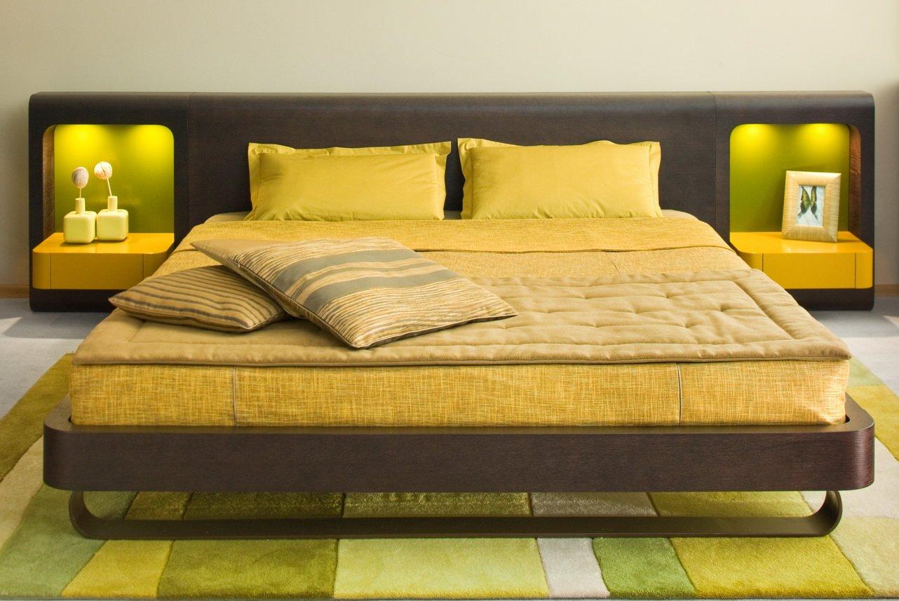 Двуспальные кровати 2019: фото, характеристики, матрасы