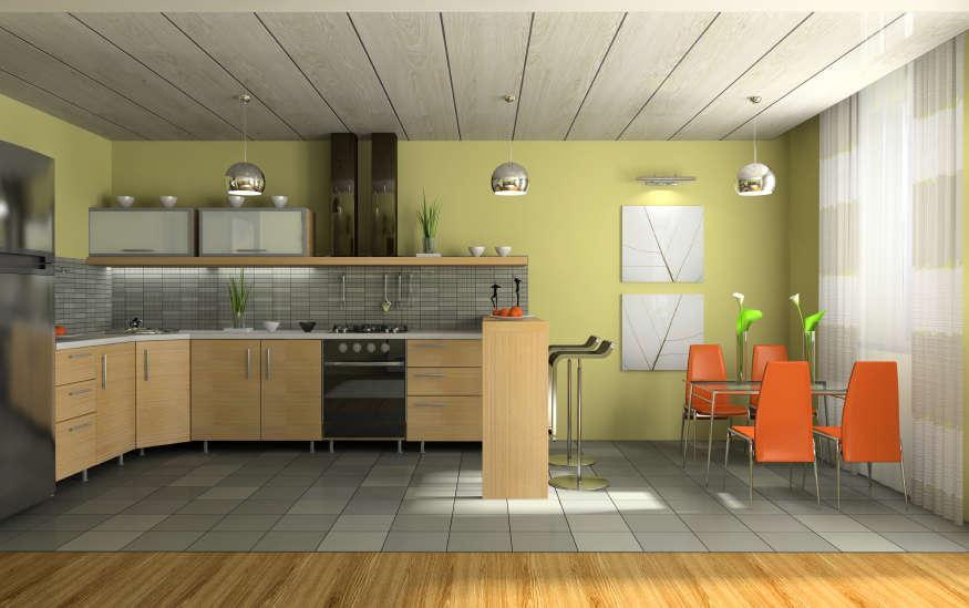 Пластиковые панели для кухни: фото, виды, советы экспертов