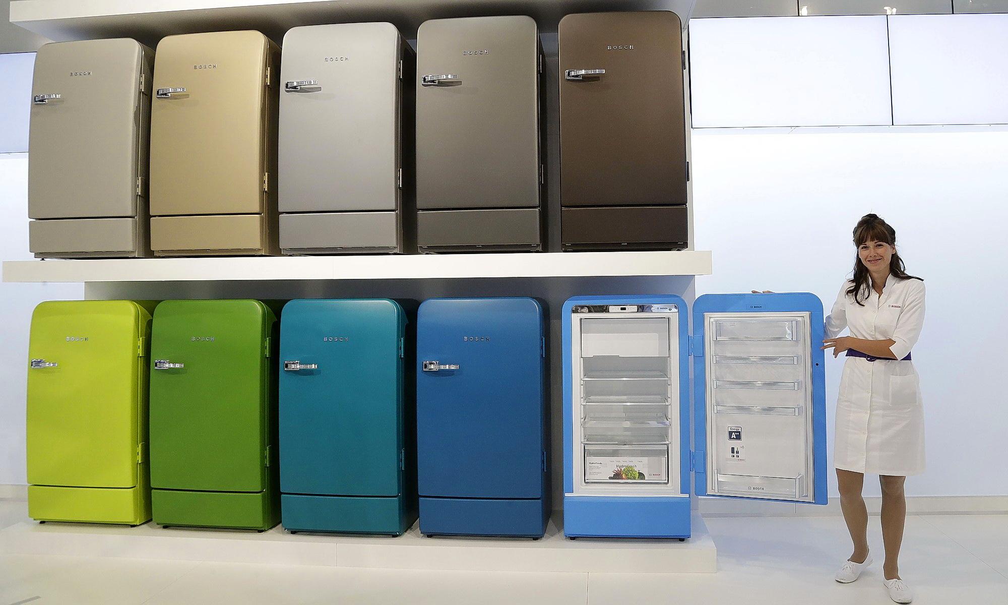 Ретро-холодильники в интерьере 2019: фото, дизайн, как выбрать