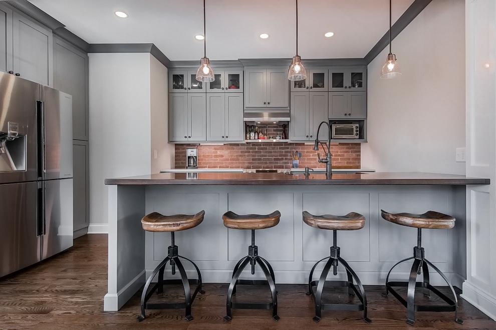 Серая кухня в интерьере ✅️ Сочетания цветов и тренды